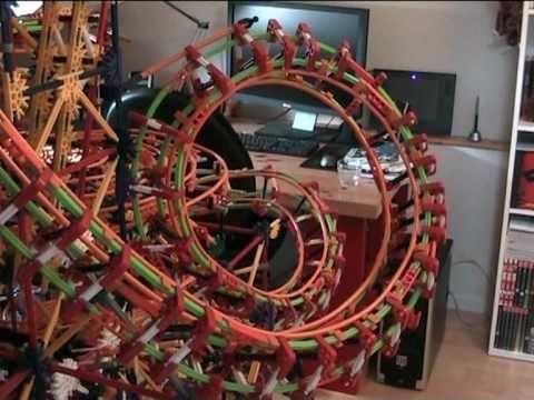 Metropolis - a K'nex Ball Machine