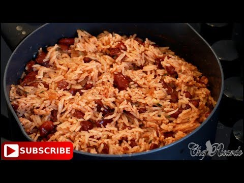 Rice And Peas Sunday Special (Jamaican Chef) | Recipes By Chef Ricardo