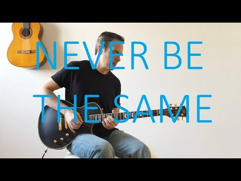Never Be The Same - Electric Guitar Cover (with TABS) - Camila Cabello