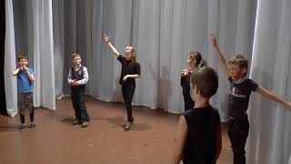 Открытый урок в театр-студии «Я» (младшая студия)