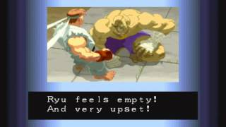 Street Fighter Alpha (Arcade) All Endings