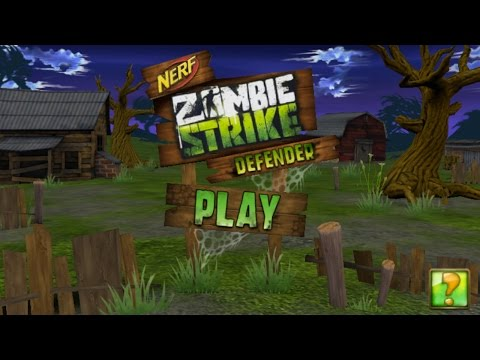NERF: Zombie Strike Defender (High-Score Gameplay)