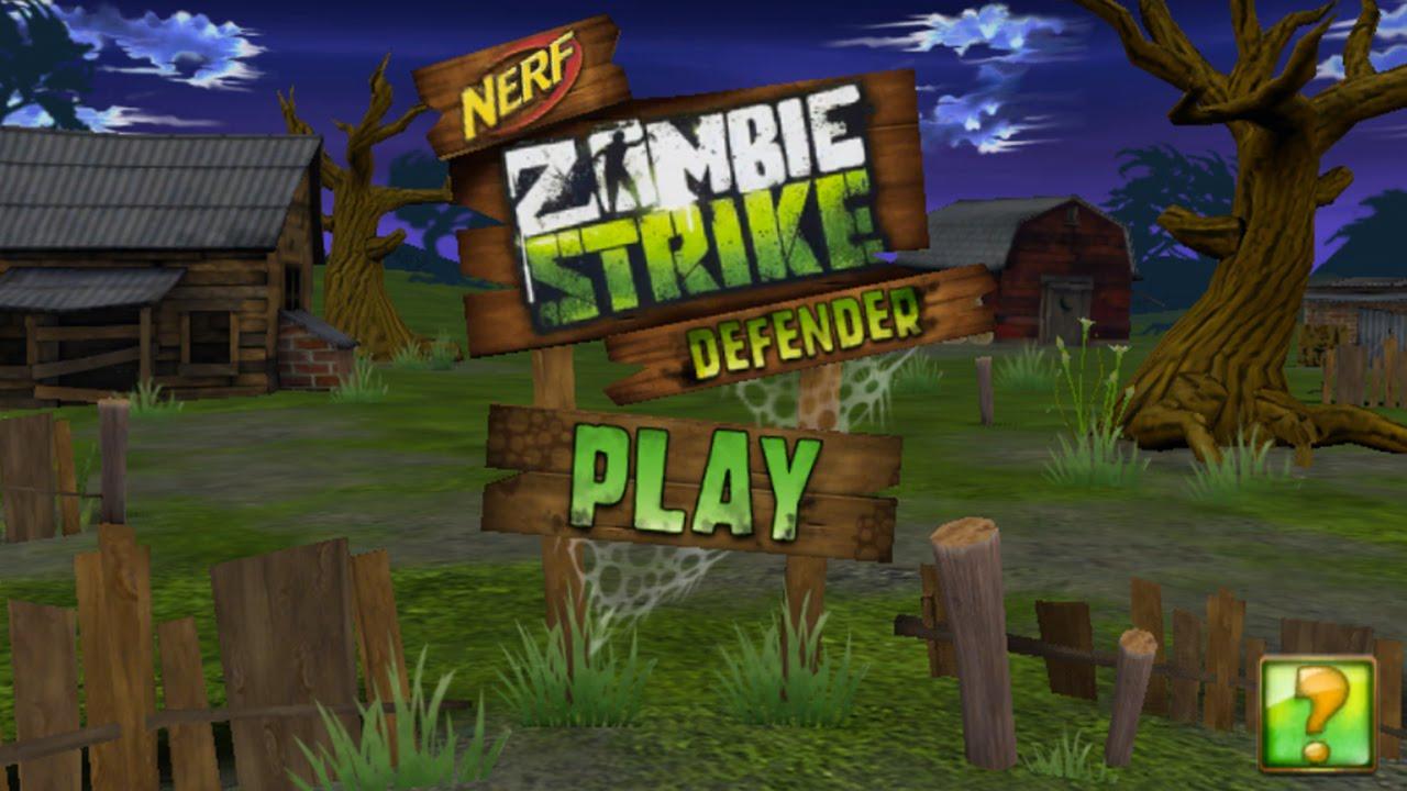 Nerf Zombie Strike Defender High Score Gameplay Youtube