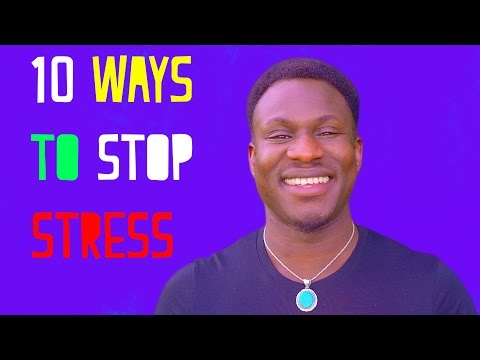 10 Ways to Stress LESS And Live MORE!!!
