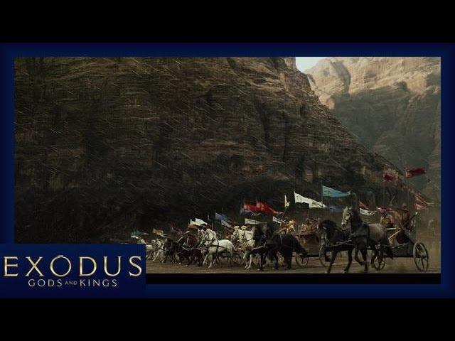 Exodus : Gods and Kings - Extrait Première bataille [Officiel] VOST HD