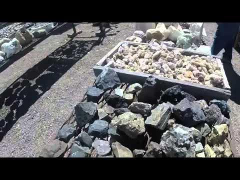 Bingham NM rock shop Trinitite purchase