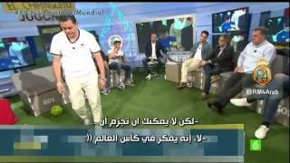 رونسيرو يقلّد ميسي في كأس العالم ويتحدث عن مقارنته برونالدو..! - مترجم