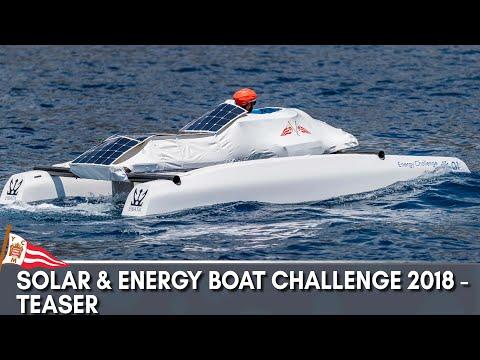 Solar & Energy Boat Challenge 2018 - Teaser