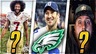 TONY ROMO, COLIN KAEPERNICK, NICK FOLES OR C4? -- EAGLES QB MADDEN 18 EXPERIMENT