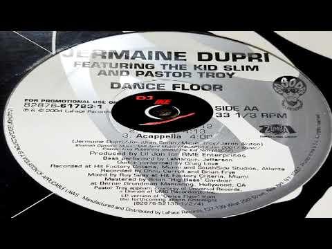 Jermaine Dupri ft Pastor Troy /Lil Jon   Dance Floor Acapella  Green Light