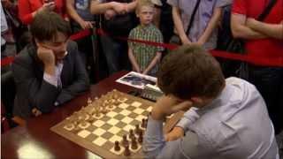♚ Alexander Morozevich vs Magnus Carlsen ☆ Chess Blitz Matchup Tal Memorial 2013 ☆