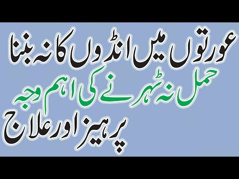 No Egg Production In Female | hamal na honay ki ahem waja | ╪о┘И╪з╪к█М┘Ж ┘Е█М┌║ ╪з┘Ж┌И┘И┌║ ┌й╪з ┘Ж█Б ╪и┘Ж┘Ж╪з