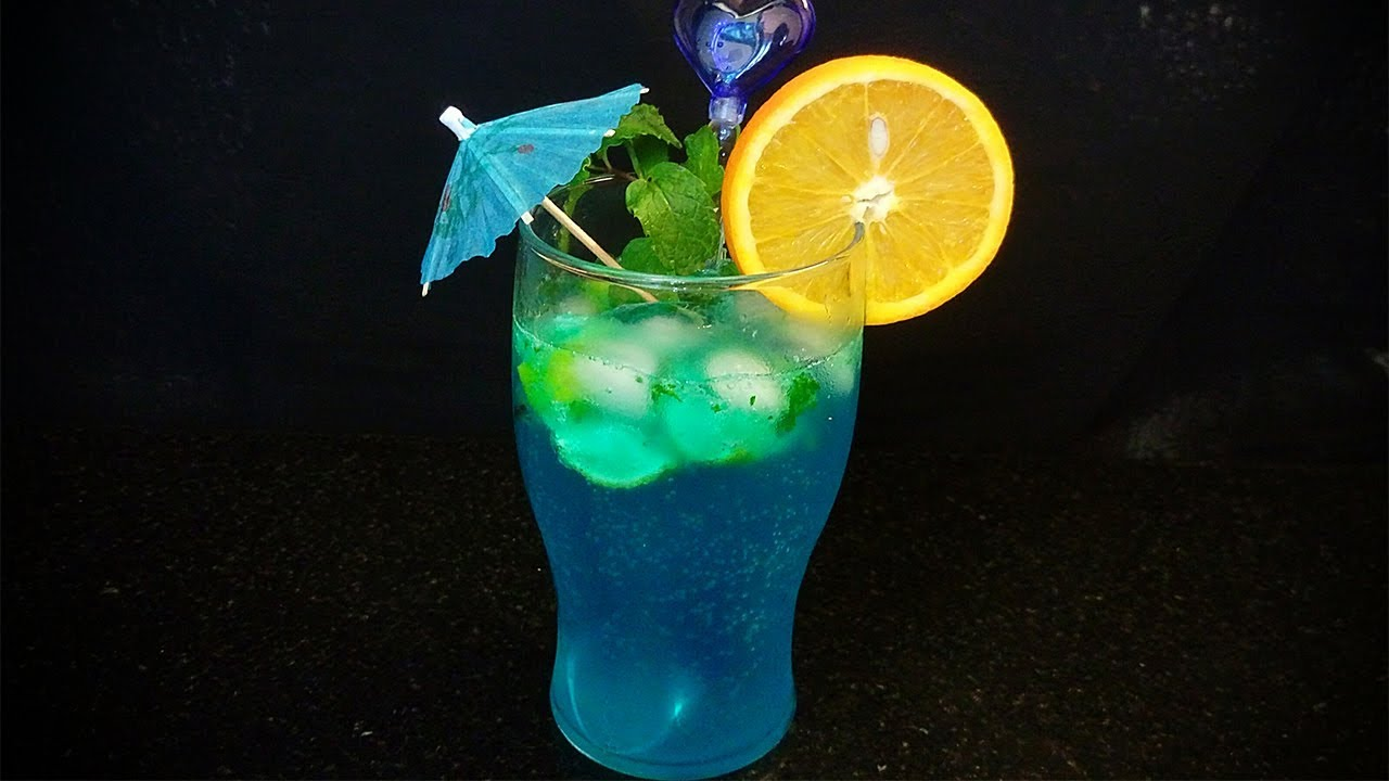 Blue Lagoon Mocktail Blue Lagoon Mocktail Recipe In Hindi By Farheen Khan Non Alcoholic Drink