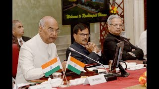 President Kovind meets Heads of 19 Central Institutes of Higher Learning