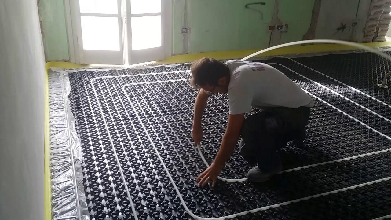 Riscaldamento A Pavimento E Raffreddamento impianto riscaldamento e raffrescamento a pavimento.
