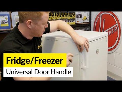 How To Fix A Universal Fridge Or Freezer Door Handle