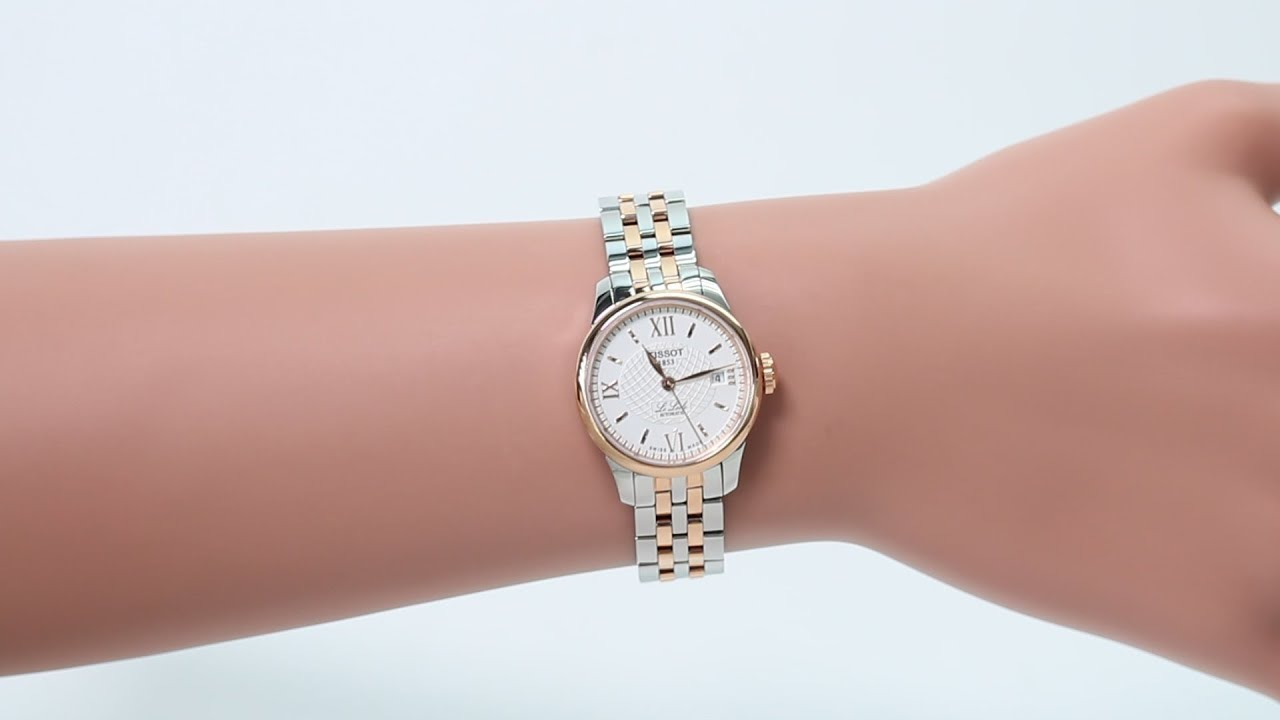 Hands On With The Tissot Womens Le Locle Automatic T41218333 - Youtube-7744