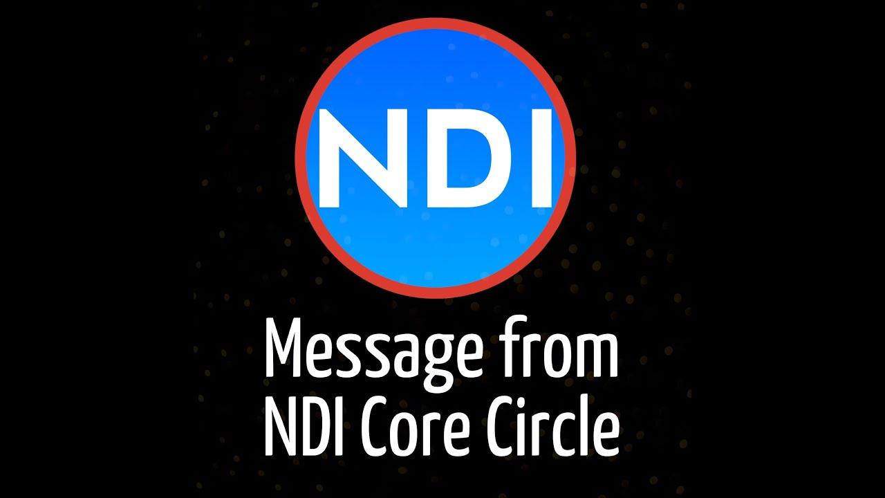 NDI Message from Core Circle