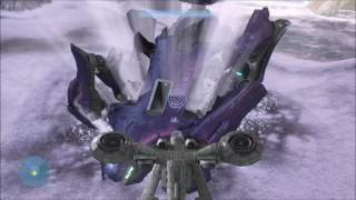 Halo 3 Trick - Super Scarab Launching (REVISITED)