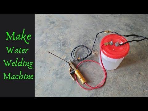 How To Make 230V Water Welding Machine Salt Water Welding Machine New Experiment