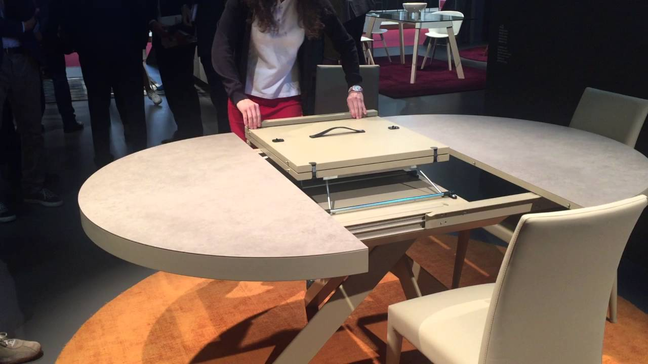 Expandable dining table - YouTube