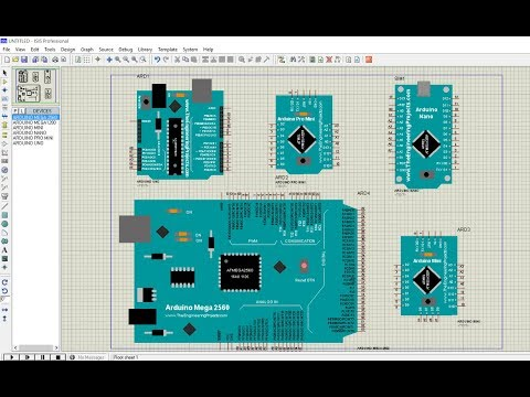 How to add Arduino Library to Proteus and Simulate Arduino