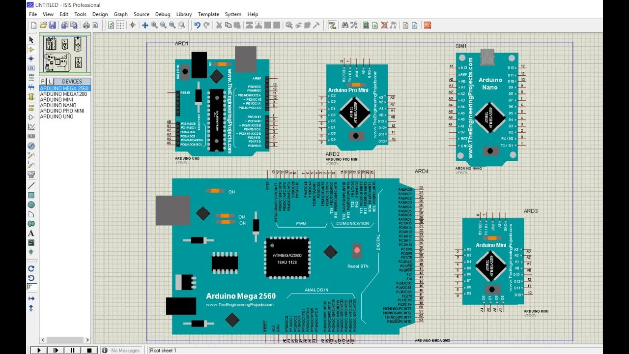 arduino library for proteus 8.7 free download