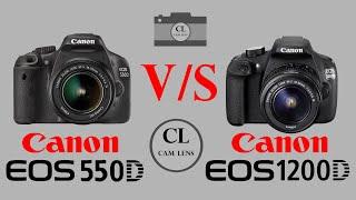 Canon EOS 550D VS Canon EOS 12…