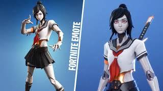 *SKIN* TSUKI (Outfit Fortnite) FE TV