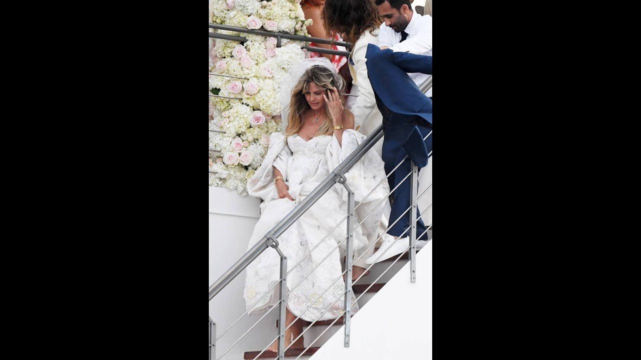 Heidi Klum Is a Beautiful Bride at Her and Tom Kaulitz's Italian Wedding