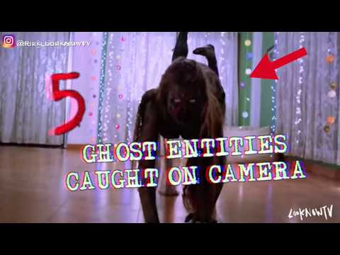 5 GHOST Entities Caught On Camera!