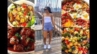 WHAT I ATE TO LOSE 88lbs | DIET TO LOSE WEIGHT | Weight Loss Food Diary #15 - What I Eat in a Day