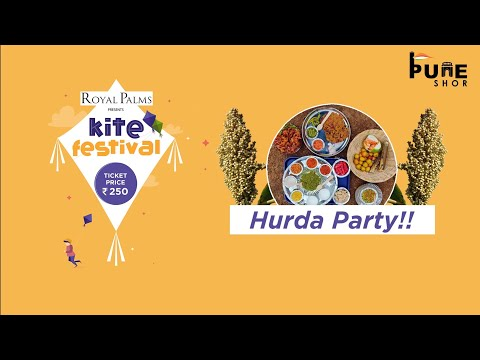 Kite Festival In Pune City | First And Biggest Event In Koregaon Park | Hurda Part |  India |#kite