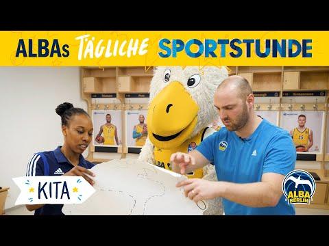 Kita 2   Die Schatzkarte   ALBAs tägliche Sportstunde