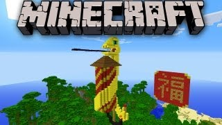 Minecraft: Year of the Snake - Chinese New Year Zodiac Fireworks 新年快乐 2013