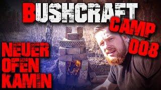 #008 - Ofen Kamin Räucherofen - Bushcraft Camp Lager Survival - Deutschland (german/deutsch)