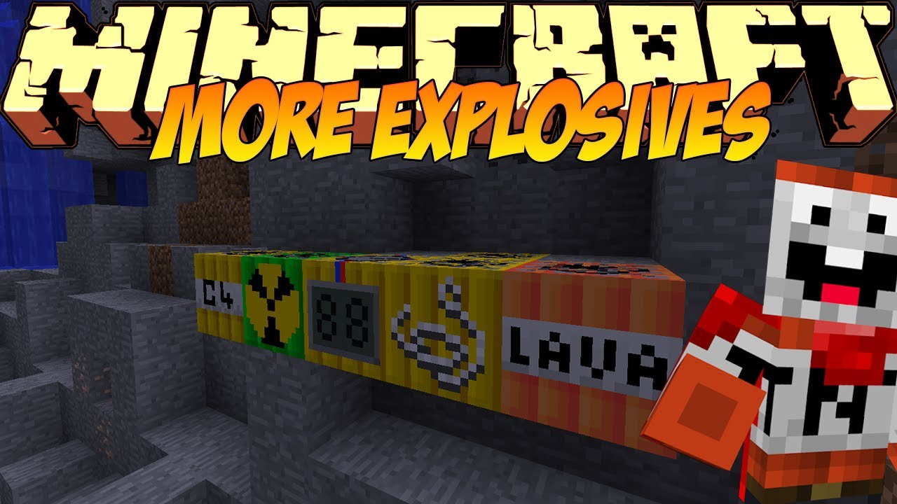 Minecraft 1. 8/1. 7 mods too much tnt mod 1. 8/1. 7. 10 (download.