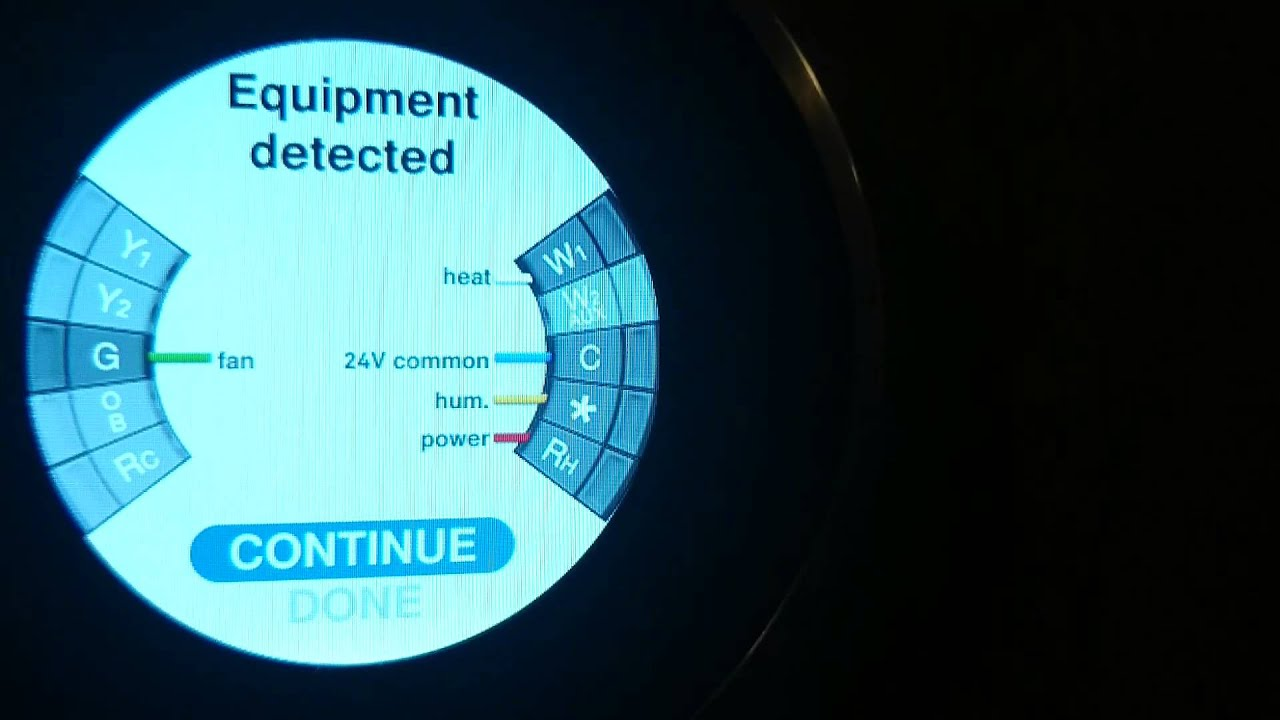 setup nest thermostat flowthrough buypass humidifiers [ 1280 x 720 Pixel ]