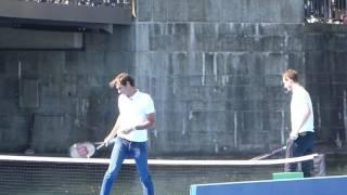 Roger Federer vs Andy Murray - Limmat River Zürich Apr 10 2017