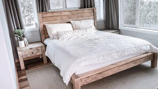 Building a Modern Farmhouse Bed