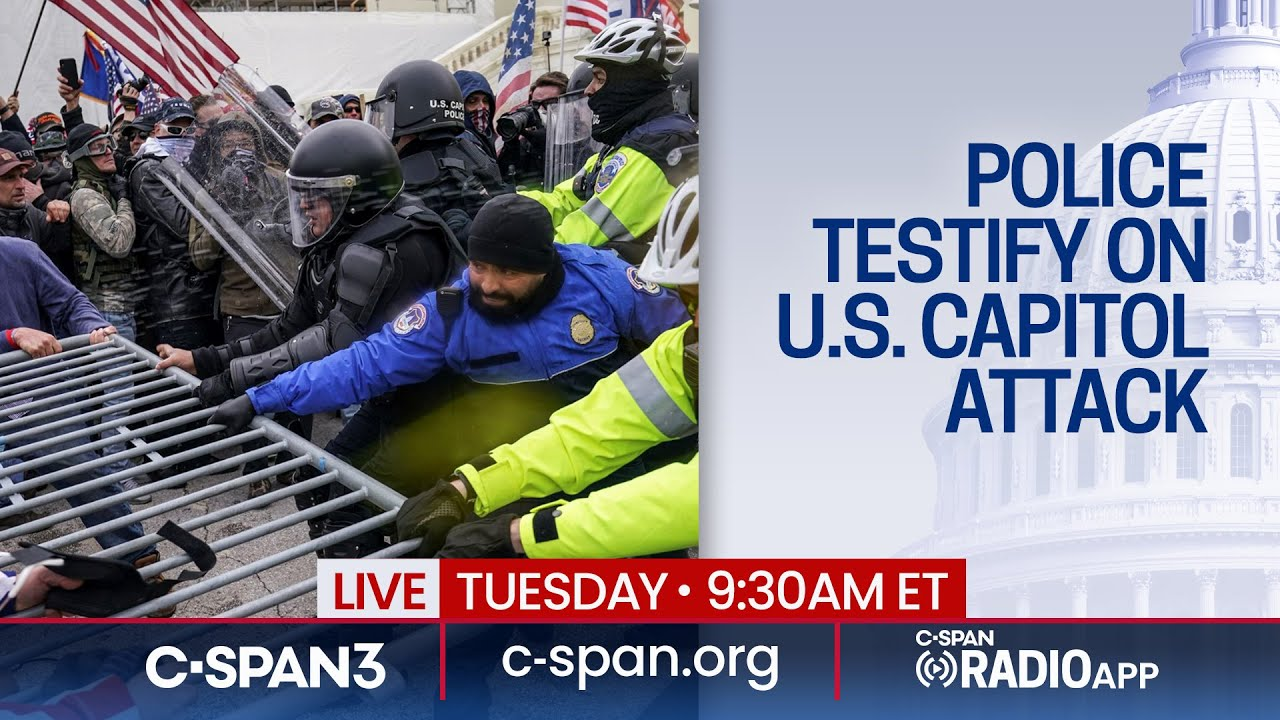 U.S. Capitol and DC Police Testify on January 6 Attack