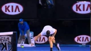 Dimitrov Loses Control... Breaks Racket!