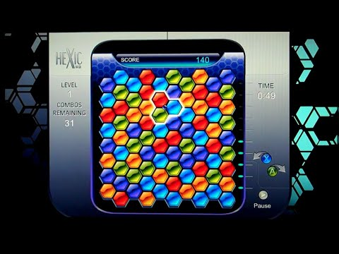 Hexic HD Xbox Live Arcade Gameplay