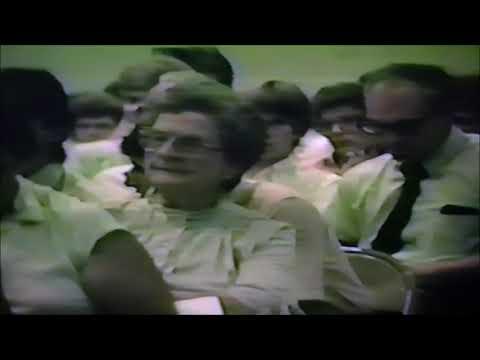 Pierce City High School 1985 graduation