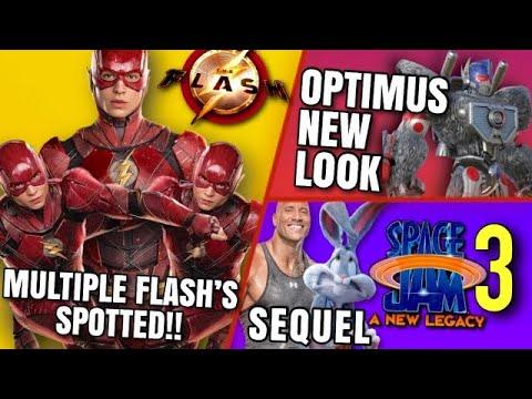 Download Space Jam 3 , The Flash SHOCKING Set Photos, Transformers 7 & MORE!!