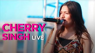 CHERRY SINGH gives a tribute to Surinder Kaur at GAANA CROSSBLADE MUSIC FESTIVAL CHANDIGARH 2019