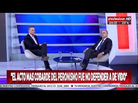 Guillermo Moreno Con Mauro Federico En Cronica TV 07/02/20