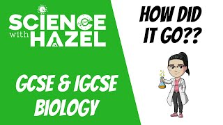 How Did Biology Go?? | Science with Hazel