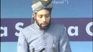 Ahmadiyya : Burhan Sb Seerath-e-Sahaba at Jalsa Qadian 2009 Day 3 Morning Part 1/5