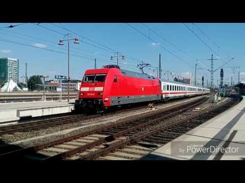 Vlaky ve stanici Dresden hbf